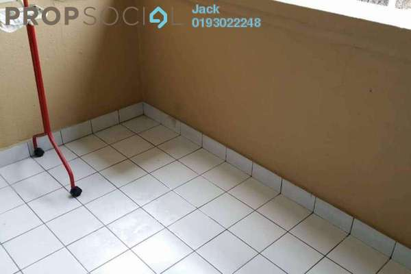 For Rent Apartment at Setapak Ria Condominium, Setapak Freehold Semi Furnished 3R/2B 1.2k