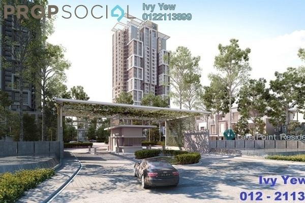 For Sale Condominium at Lake Point Residence, Cyberjaya Freehold Semi Furnished 3R/2B 527k