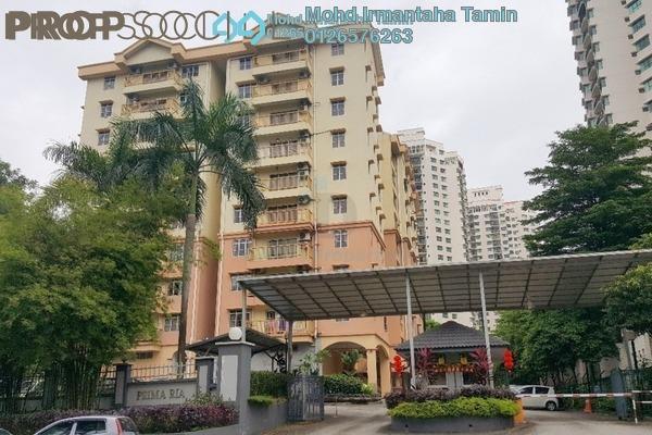 Condominium For Sale in Prima Ria, Dutamas Freehold Semi Furnished 3R/2B 530k