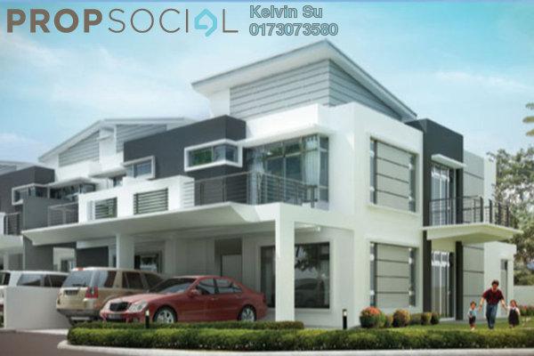 Superlink For Sale in Taman Sri Minang, Kajang Freehold Semi Furnished 4R/4B 369k