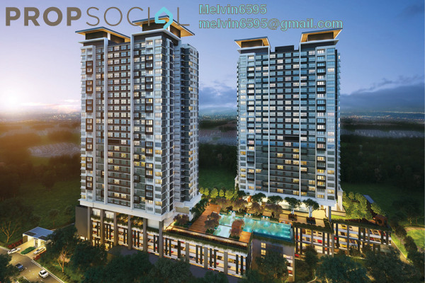 For Sale Condominium at Kota Laksamana, Bandar Melaka Freehold Fully Furnished 2R/2B 532k