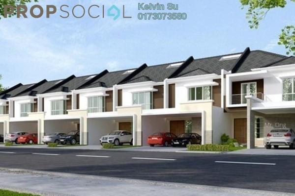 Terrace For Sale in East Lake Residence, Seri Kembangan Freehold Fully Furnished 4R/3B 539k