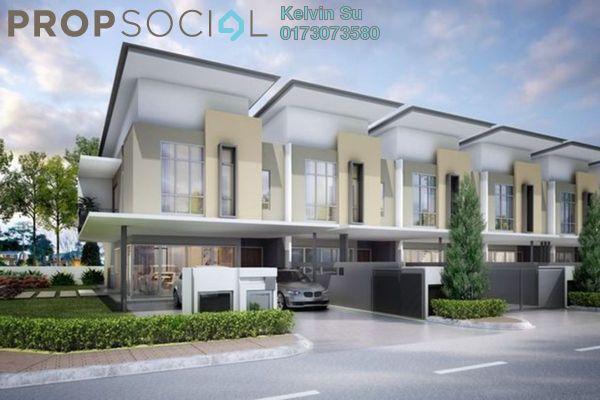 Terrace For Sale in Section 1, Bandar Mahkota Cheras Freehold Fully Furnished 4R/4B 413k
