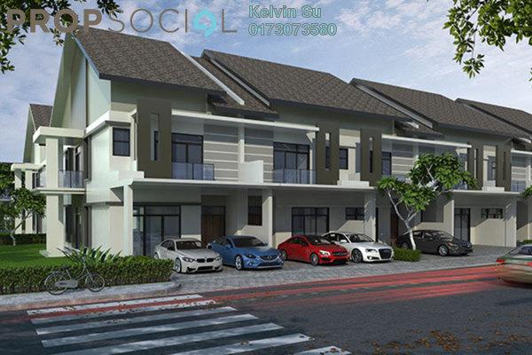 Terrace For Sale in Bukit Gita Bayu, Seri Kembangan Freehold Fully Furnished 4R/4B 349k