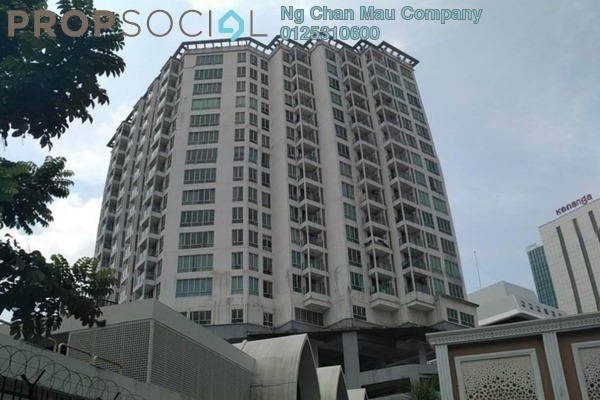 Apartment For Sale in 231 TR, KLCC Freehold Semi Furnished 0R/0B 400k