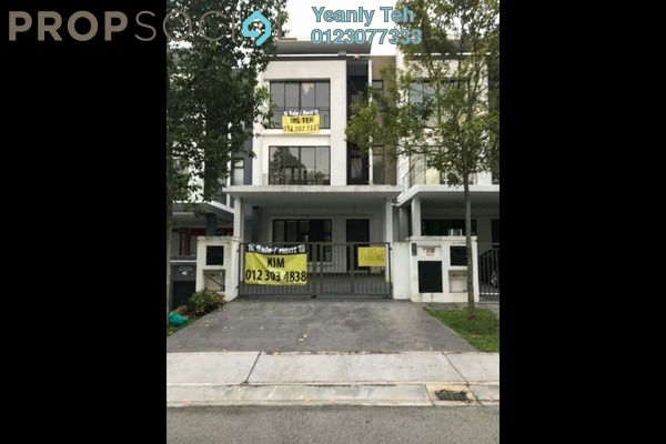 Superlink For Rent in Valencia, Sungai Buloh Freehold Fully Furnished 5R/5B 4.8k