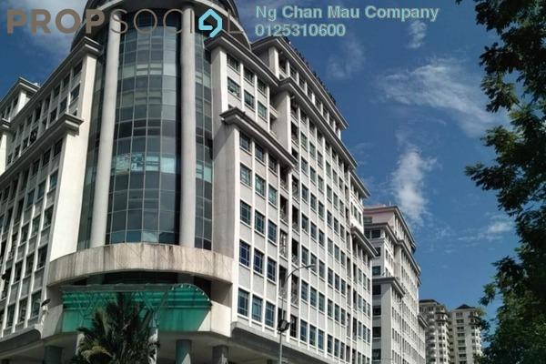 Office For Sale in Kelana Square, Kelana Jaya Leasehold Semi Furnished 0R/0B 210k