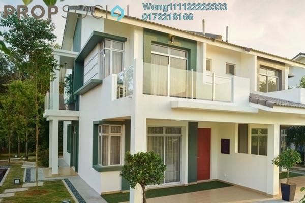 Terrace For Sale in Section 1, Bandar Mahkota Cheras Freehold Semi Furnished 5R/5B 602k