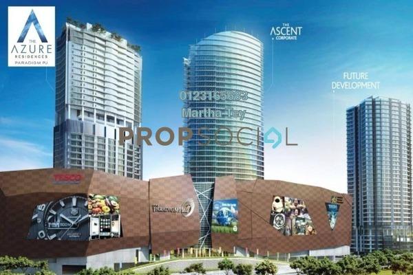 Serviced Residence For Sale in The Azure Residences, Kelana Jaya Freehold Semi Furnished 2R/1B 820k