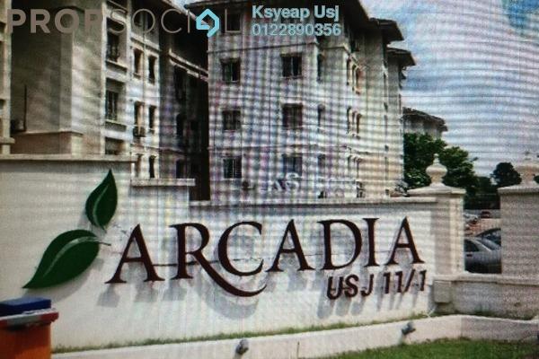 Apartment For Rent in Arcadia, UEP Subang Jaya Freehold Unfurnished 3R/2B 1.3k