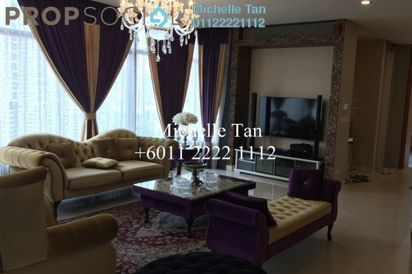 Condominium For Sale in The Troika, KLCC Freehold Fully Furnished 4R/6B 3.93m