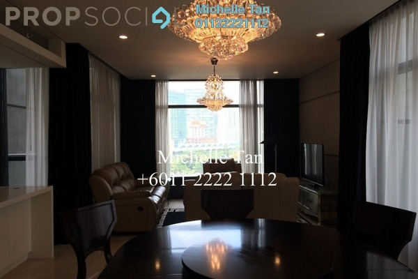 Condominium For Sale in The Troika, KLCC Freehold Fully Furnished 2R/3B 2.77m