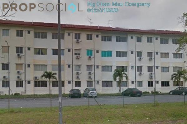 Apartment For Sale in Apartment Seri Mengkuang, Gelang Patah Leasehold Semi Furnished 3R/0B 292k