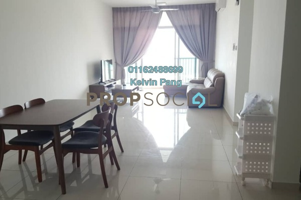 For Rent Condominium at Sandiland Foreshore, Georgetown Freehold Fully Furnished 3R/3B 2.2k