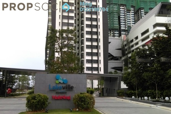 Condominium For Rent in Lakeville Residence, Jalan Ipoh Freehold Unfurnished 3R/2B 2.1k