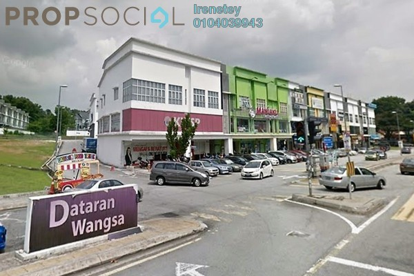 Shop For Rent in Dataran Wangsa, Wangsa Maju Freehold Unfurnished 0R/0B 3.5k