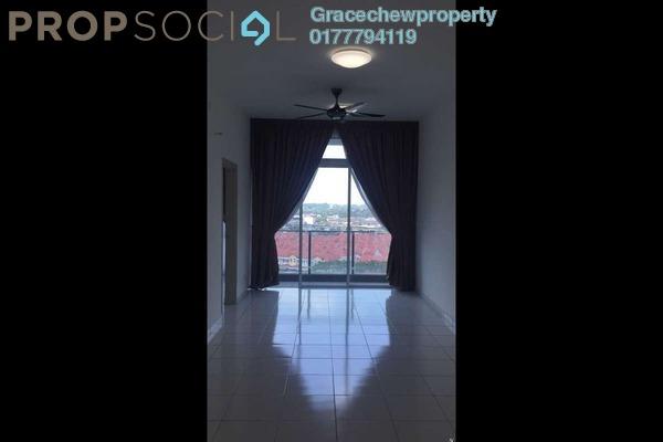 Serviced Residence For Sale in The Senai Garden, Senai Freehold Semi Furnished 1R/1B 305k
