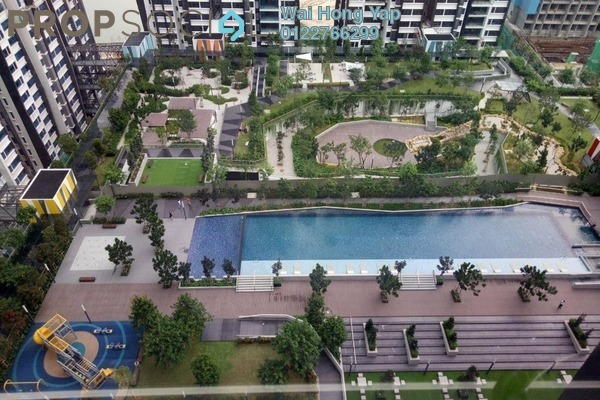 Condominium For Rent in Lakeville Residence, Jalan Ipoh Freehold Semi Furnished 3R/2B 1.8k