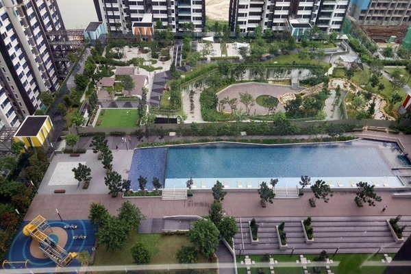Condominium For Sale in Lakeville Residence, Jalan Ipoh Freehold Semi Furnished 3R/2B 680k