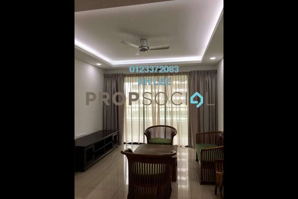 Condominium For Rent in Paragon 3, Bandar Putra Permai Freehold Semi Furnished 4R/3B 1.8k