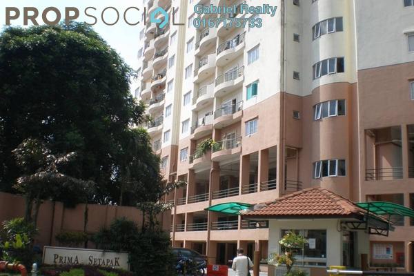 For Sale Condominium at Prima Setapak I, Setapak Freehold Unfurnished 3R/2B 430k