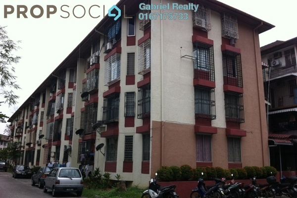 Apartment For Sale in Rampai Court, Setapak Freehold Unfurnished 2R/1B 260k