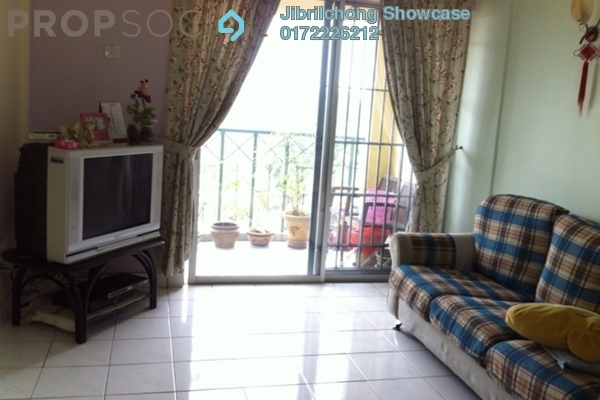 Apartment For Rent in Sri Rakyat Apartment, Bukit Jalil Freehold Semi Furnished 3R/2B 829translationmissing:en.pricing.unit