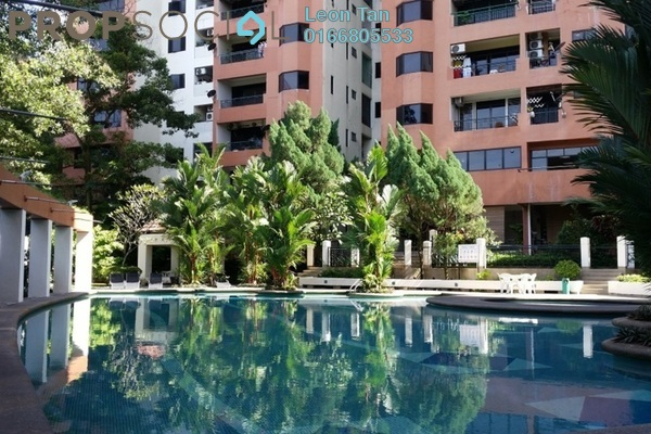 Condominium For Rent in Maxwell Towers, Gasing Heights Freehold Semi Furnished 3R/3B 2.5k