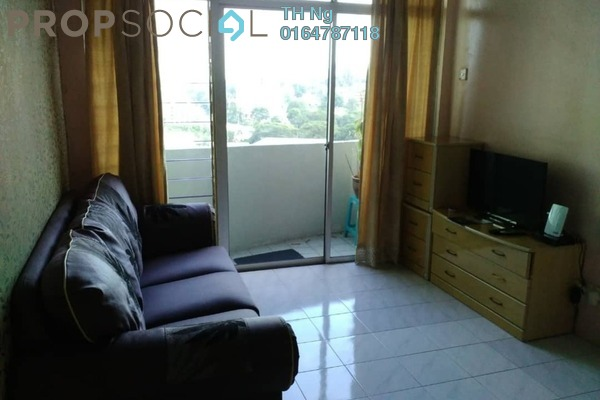 Condominium For Sale in Sinar Bukit Dumbar, Gelugor Freehold Fully Furnished 3R/2B 350k