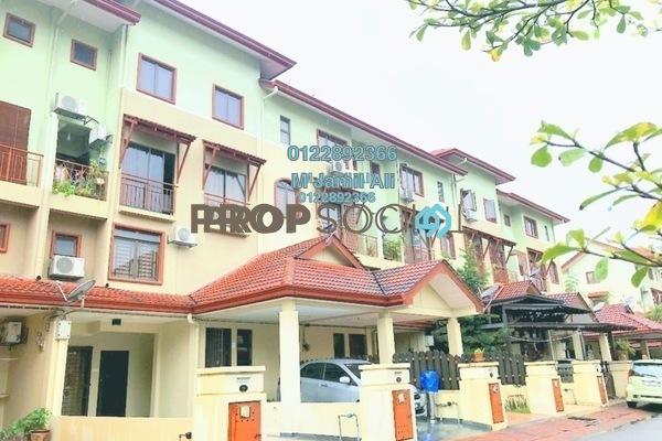 Townhouse For Sale in Villa Laman Tasik, Bandar Sri Permaisuri Leasehold Semi Furnished 4R/3B 595k