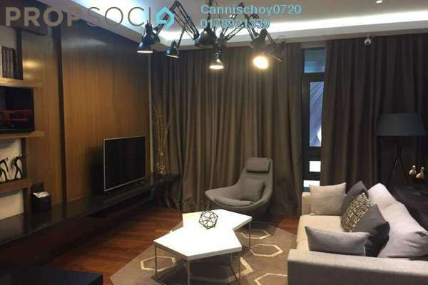Serviced Residence For Sale in Anggun Residences, Dang Wangi Freehold Semi Furnished 2R/0B 1.4m