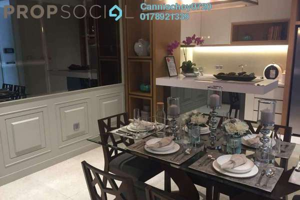 Serviced Residence For Sale in Anggun Residences, Dang Wangi Leasehold Semi Furnished 3R/3B 2.3m