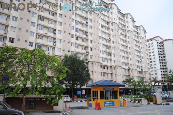 Apartment For Sale in Lestari Apartment, Bandar Sri Permaisuri Freehold Semi Furnished 3R/2B 330k