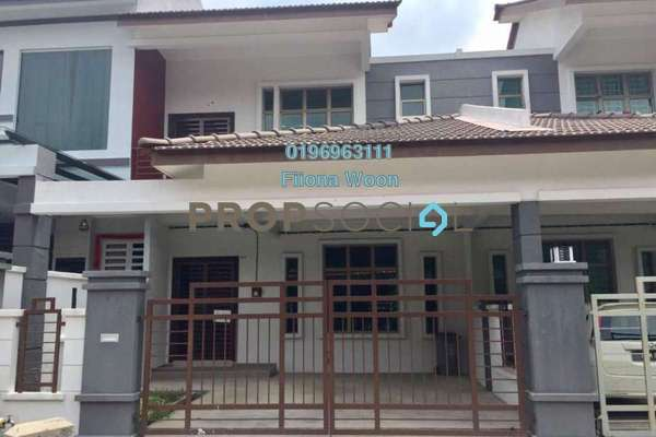 Terrace For Rent in Taman Cheng Perdana, Cheng Freehold unfurnished 4R/3B 1.2k