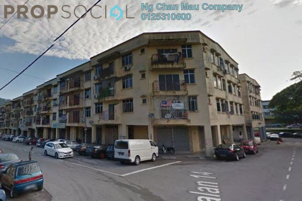 Apartment For Sale in Taman Usaha Jaya, Kepong Freehold Semi Furnished 0R/0B 100k