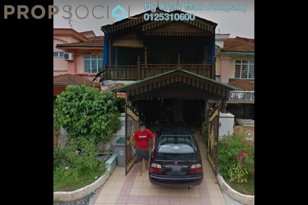 For Sale Terrace at Taman Sri Pulai Perdana 1, Pulai Freehold Semi Furnished 0R/0B 324k