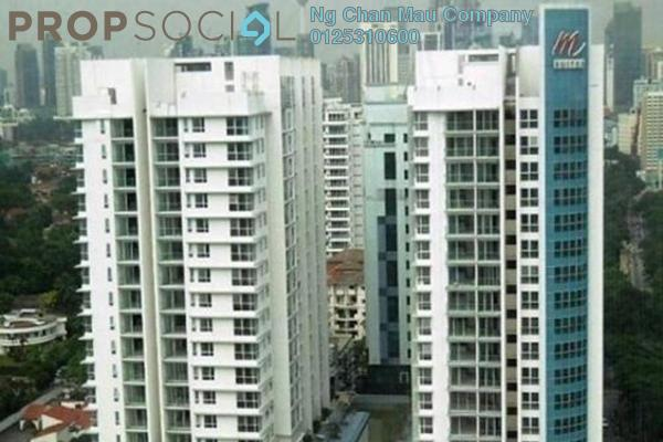 Apartment For Sale in M Suites, Ampang Hilir Freehold Semi Furnished 0R/0B 570k