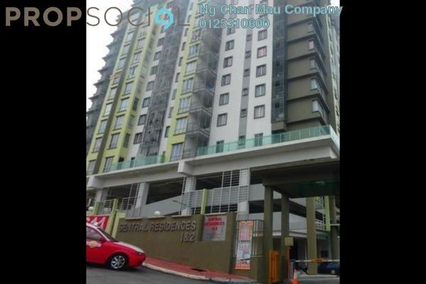 Apartment For Sale in Sentral Residences, Kajang Freehold Semi Furnished 0R/0B 303k