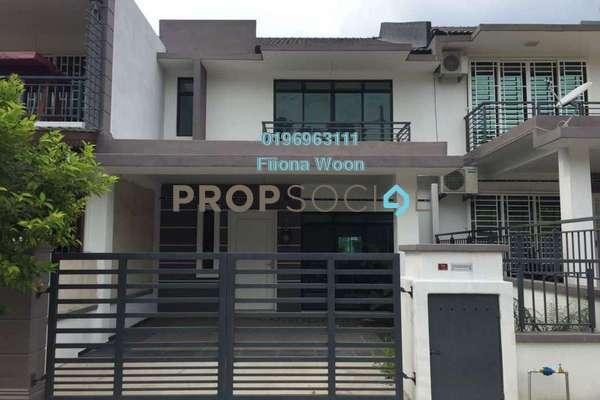 Terrace For Sale in Taman Muzaffar Heights, Ayer Keroh Leasehold Unfurnished 4R/3B 465k