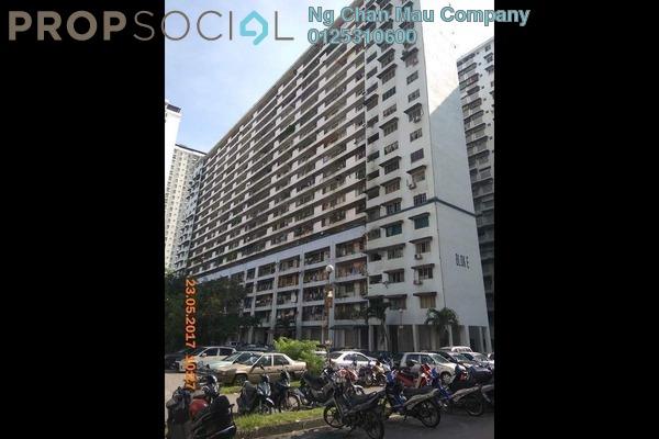Apartment For Sale in Danau Kota, Setapak Freehold Semi Furnished 0R/0B 130k