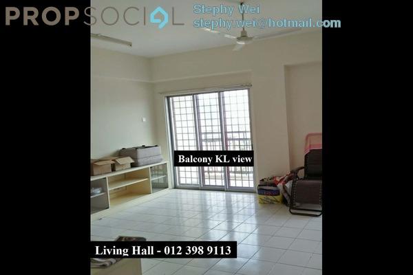 Condominium For Rent in Taman Dagang, Ampang Freehold Semi Furnished 4R/2B 1.6k