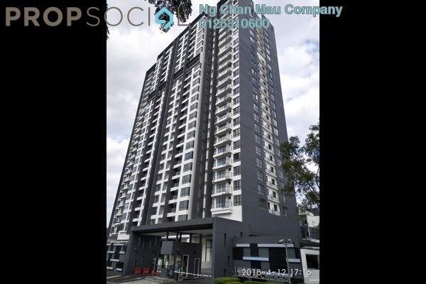 Apartment For Sale in Suria Residen, Batu 9 Cheras Freehold Semi Furnished 0R/0B 452k