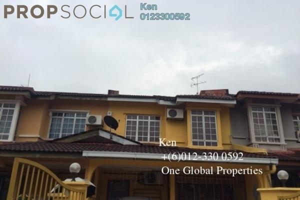 Terrace For Sale in Damai Perdana, Bandar Damai Perdana Freehold Semi Furnished 4R/3B 660k
