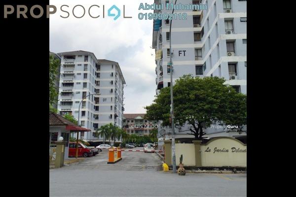Condominium For Sale in Le Jardine, Pandan Indah Leasehold Semi Furnished 3R/2B 415k