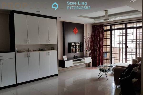 Condominium For Rent in Pelangi Astana, Bandar Utama Freehold Fully Furnished 3R/2B 1.8k