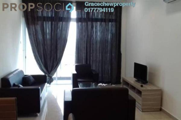 Serviced Residence For Rent in The Senai Garden, Senai Freehold Fully Furnished 3R/2B 2.2k