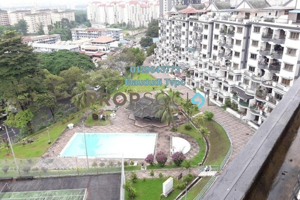 For Sale Condominium at Sri Kinabalu, Wangsa Maju Freehold Semi Furnished 4R/2B 650k