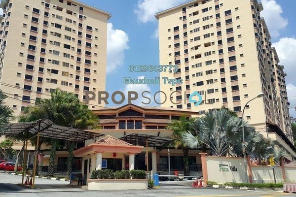 Condominium For Sale in Putra Villa, Gombak Freehold Semi Furnished 3R/2B 470k