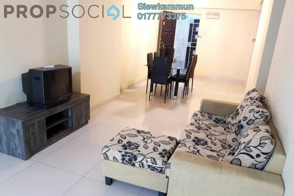 For Rent Condominium at Kepong Central Condominium, Kepong Freehold Fully Furnished 3R/2B 1.1k
