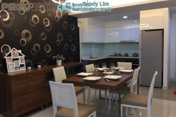 共管公寓 单位出售于 Royalle Condominium, Segambut Freehold Semi Furnished 3R/2B 722.3千